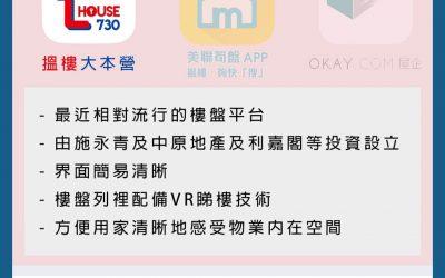 【地產平台】本港三大網上平台推薦,租屋買樓仲有VR睇樓